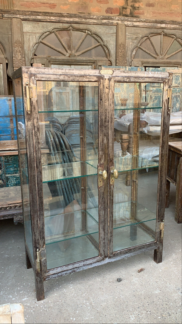 INDIAN ORIGINAL DISPLAY CABINET