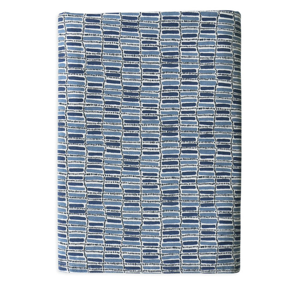THEBES DENIM COTTON TABLECLOTH