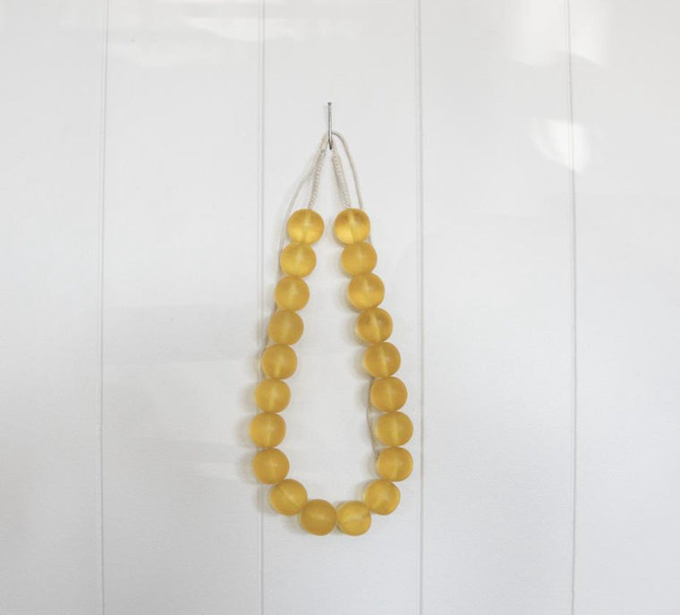 BE BOLD BEADED NECKLACE | AMBER