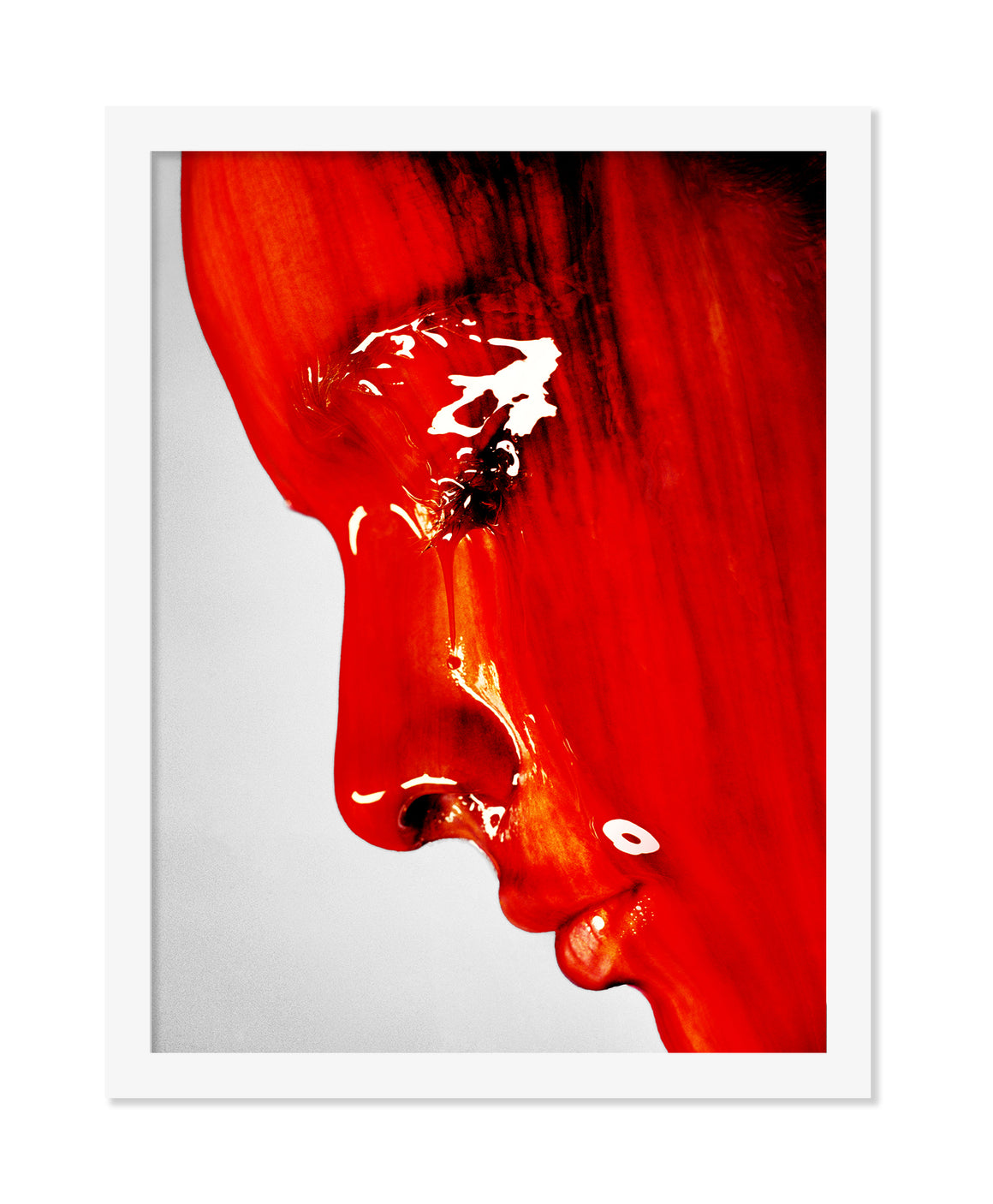 PRE-FRAMED CLAUDIA RED VIENNA 20x30