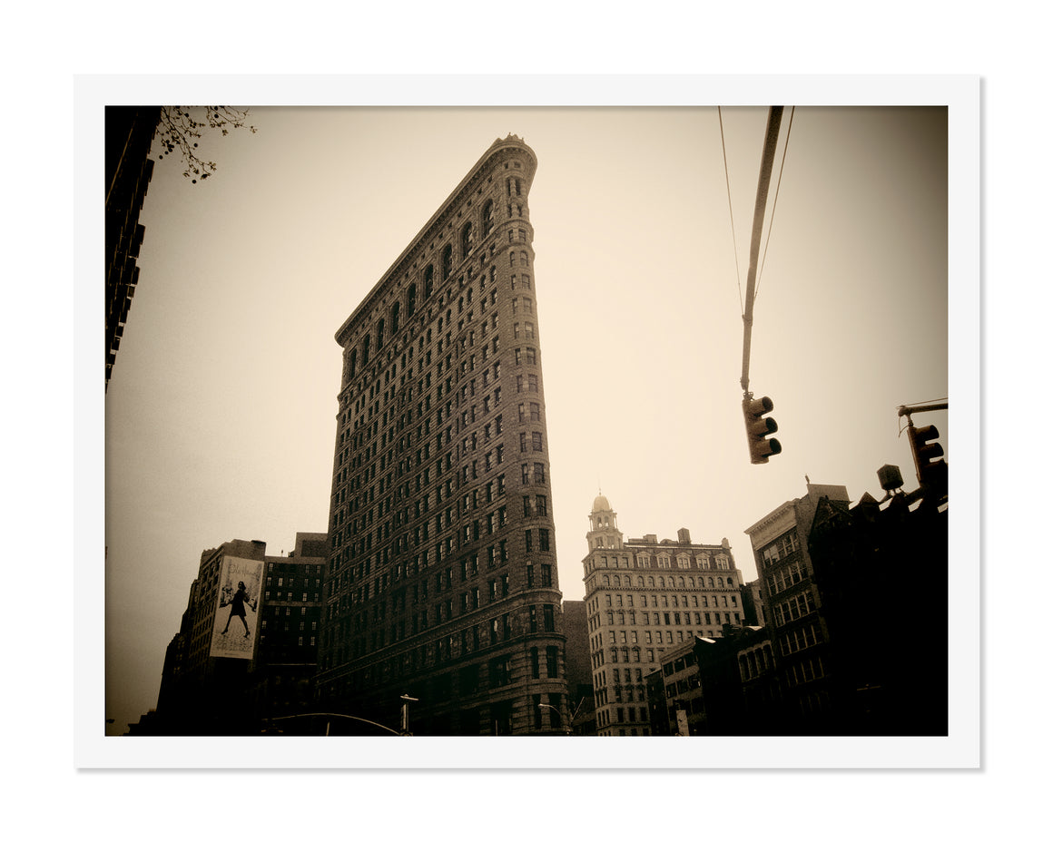 PRE-FRAMED FLAT IRON NYC 20x30