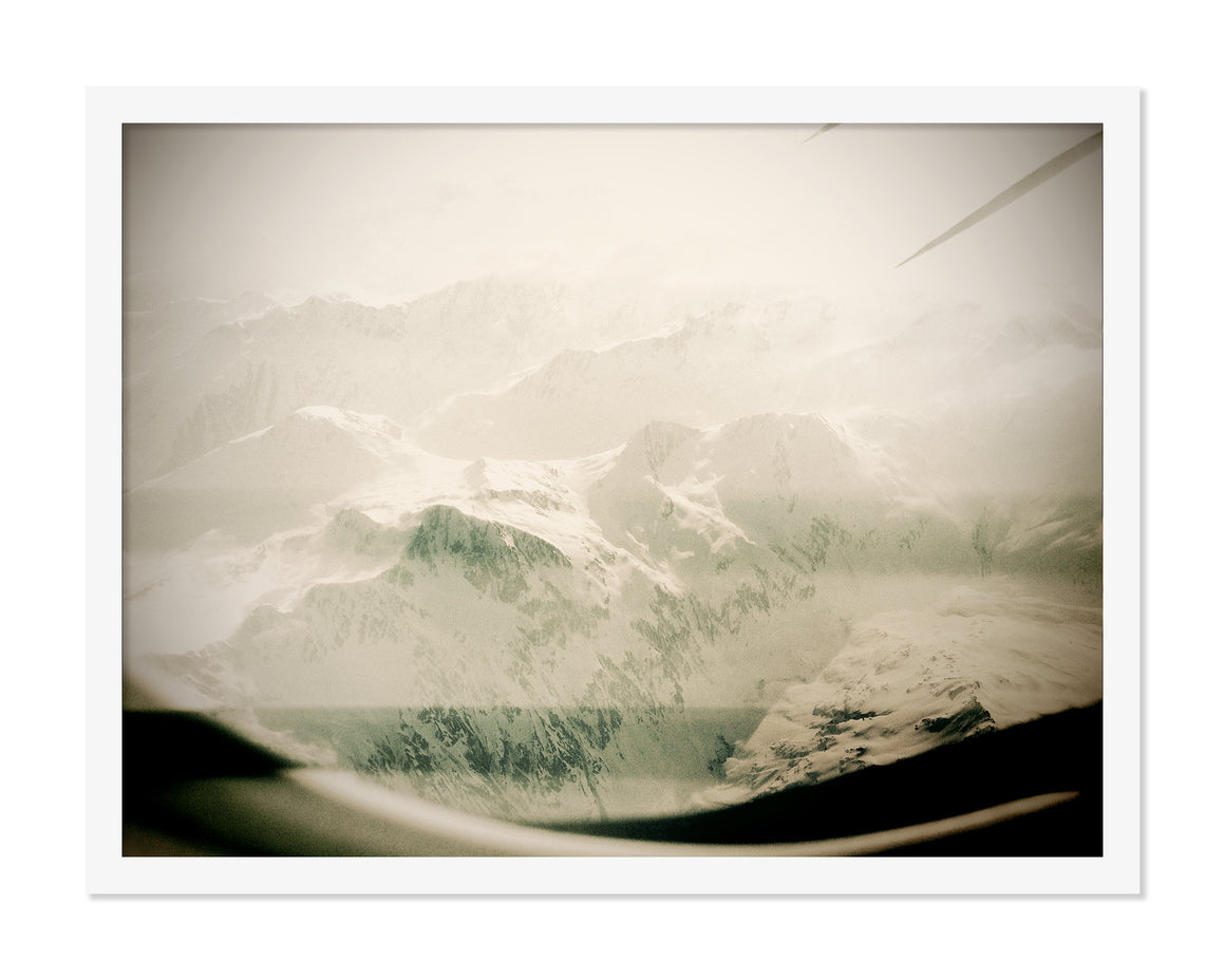 PRE-FRAMED INFLIGHT SWITZERLAND 16x20