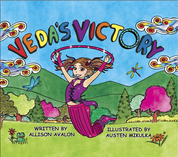 Veda's Victory (Coloring Book)