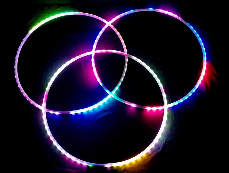 Juggling LED Hoop Set