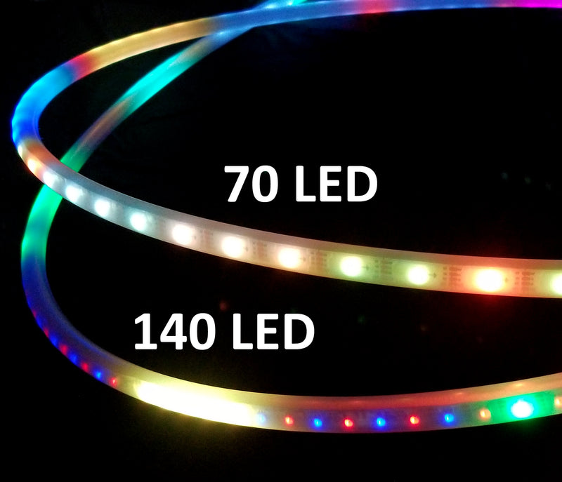 Custom Atomic V Megamix LED Hoop