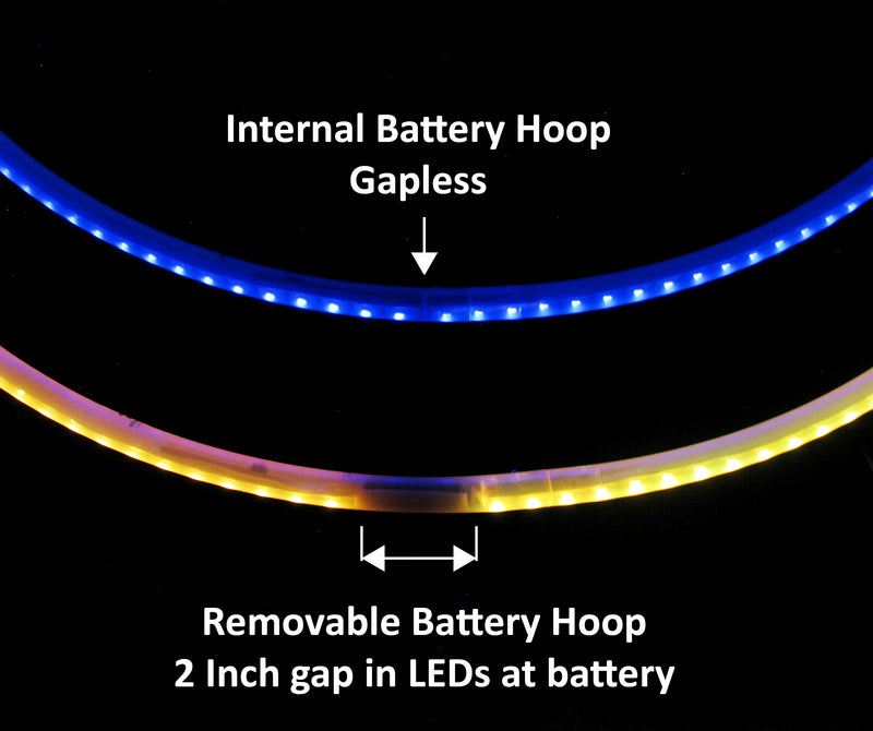 Custom Atomic V Classic LED Hoop