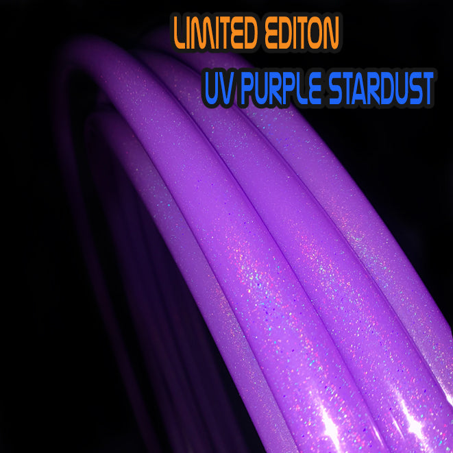 Limited Edition UV Purple Stardust Atomic V AF LED Hoop + Designer