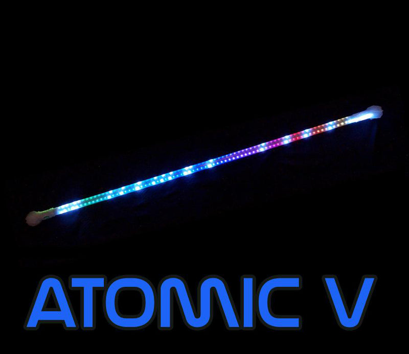 Atomic V LED Contact Staff + Designer