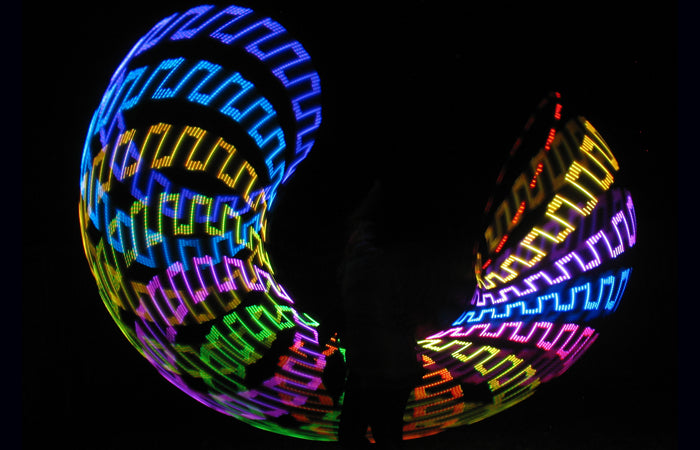 Atomic V Programmable LED Hoop + Designer