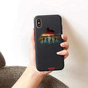 Stranger things - Silicone Candy Color phone case for iPhone 7