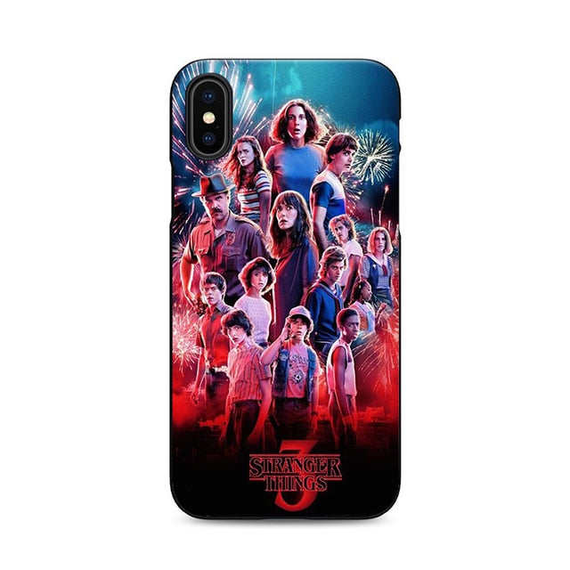 High Quality Stranger Things Season 3 Silicone iPhone case - V10