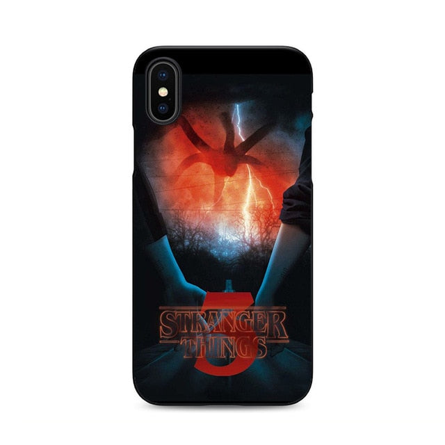 High Quality Stranger Things Season 3 Silicone iPhone case - V8