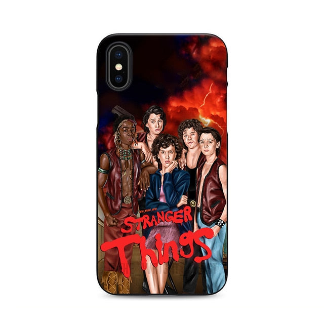 High Quality Stranger Things Season 3 Silicone iPhone case - V7