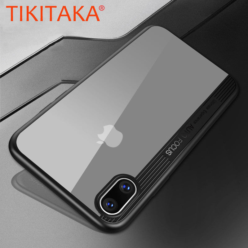 Ultra thin Clear Case for iPhone X - CanaRama