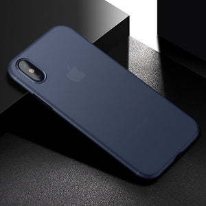 Anti-fingerprint Ultra-thin 0.4mm PP Case Cover for iPhone X - CanaRama