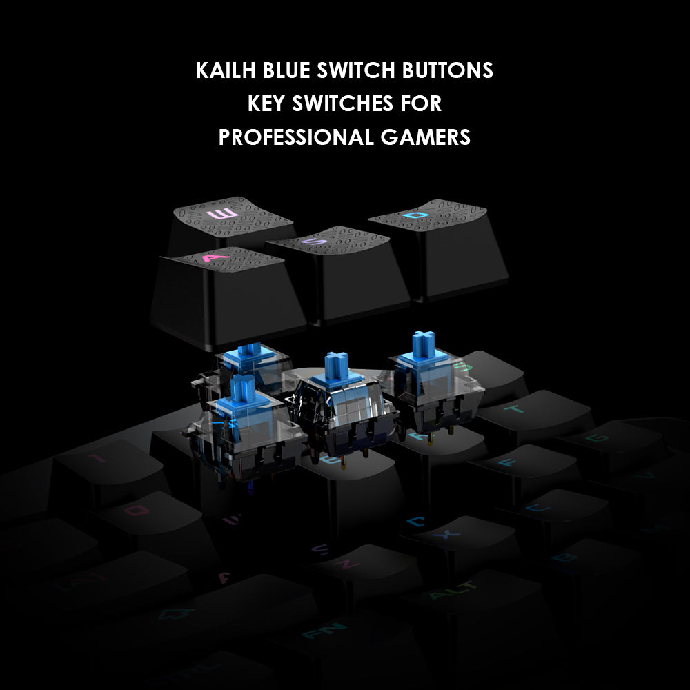 Ergonomic Z1 Kailh Gaming Keypad for Mobile/PC games with fully programmable keys - CanaRama