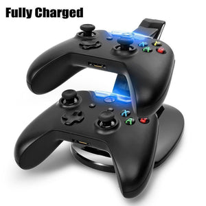 Dual Charging dock for Xbox One Controllers with 2 USB Ports - CanaRama