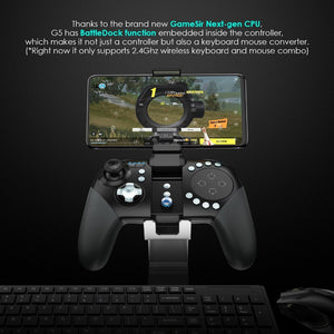 G5 Next Gen Bluetooth Game Controller with Trackpad and Configurable Buttons for Android and iOS - CanaRama