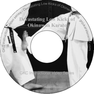Devastating Low Kicks of Okinawan Karate