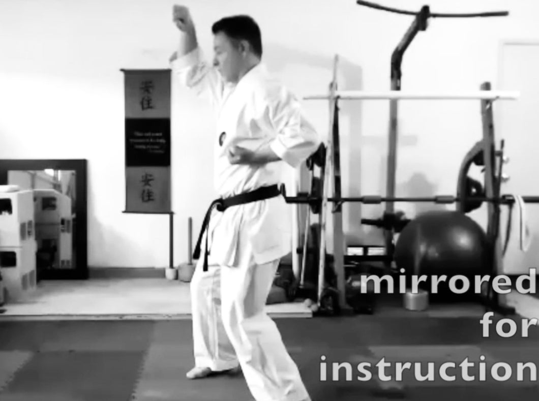Gekisai Dai Ichi Kata Key Points