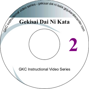 Gekisai Dai Ni kata Instructional DVD