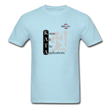 Kata Know All The Applications - T-Shirt - powder blue