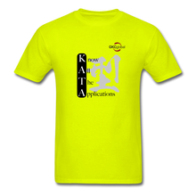 Kata Know All The Applications - T-Shirt - safety green