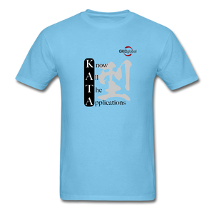 Kata Know All The Applications - T-Shirt - aquatic blue