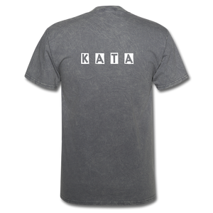 Kata Know All The Applications - T-Shirt - mineral charcoal gray
