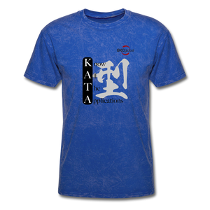 Kata Know All The Applications - T-Shirt - mineral royal