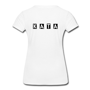 Women's Kata Know All The Applications - white