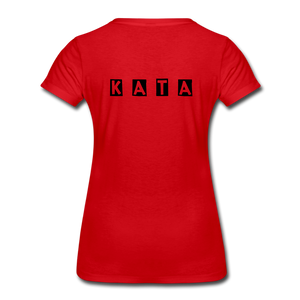 Women's Kata Know All The Applications - red