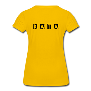 Women's Kata Know All The Applications - sun yellow