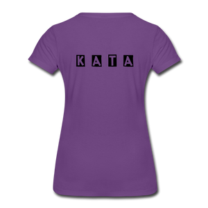 Women's Kata Know All The Applications - purple
