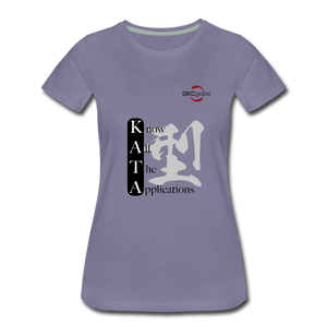 Women's Kata Know All The Applications - washed violet
