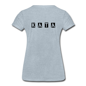 Women's Kata Know All The Applications - heather ice blue