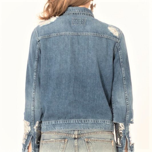 Genevieve Denim Jacket | Premium Shop