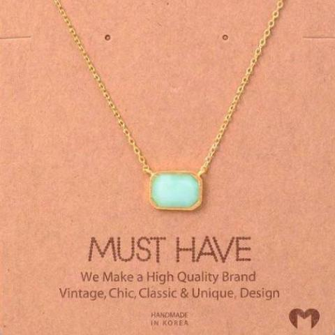 Marlowe Gemstone Necklace