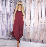 Matilda Knit Basic Maxi Dress