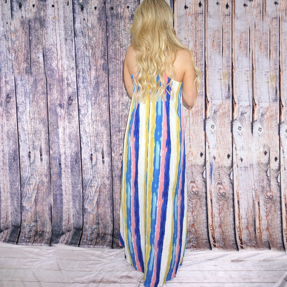 Mahala Multi-Colored Maxi Dress