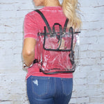 Game Day Clear Stadium Backpack