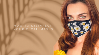 How to disinfect your cloth masks