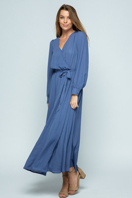 Sweetest Thing Blue Maxi Dress