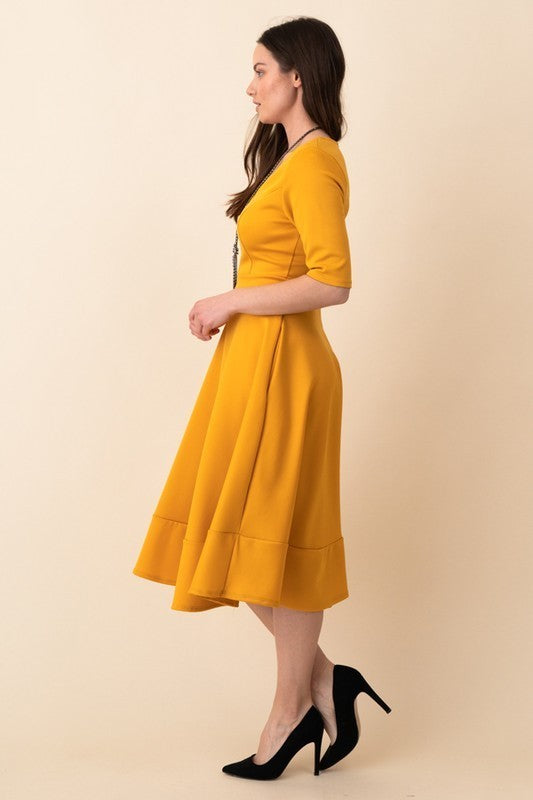 Modest Is Classy Midi Dress