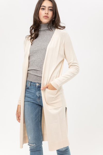 Level Cozy Duster Cardigan Sweater