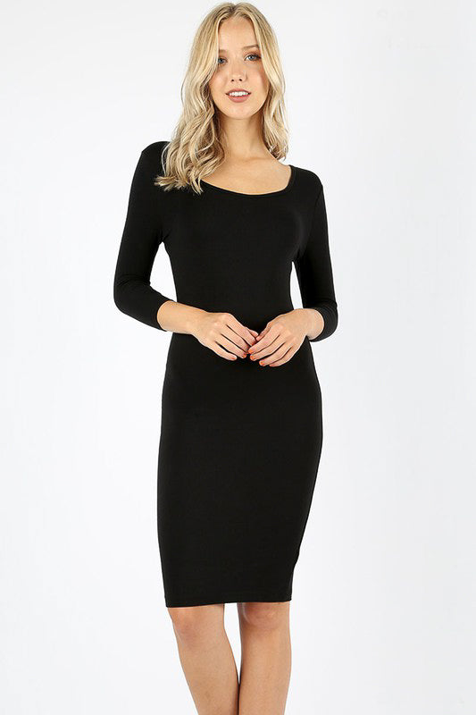 Baby LBD Layering Pencil Dress