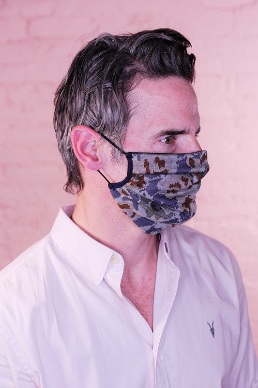 PREMIUM Urban Jungle Mens Protective Face Mask