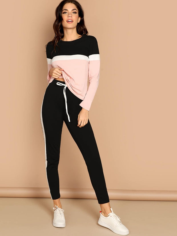 Take a Walk Two-Piece Jogger Set