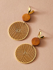 Dreamy Round Drop Earrings