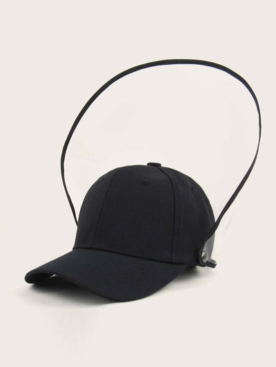 Runner Hat with Detachable Face Shield